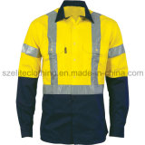 ANSI-Аттестованный Workwear оптовой продажи износа конструкции безопасности пожаробезопасный (ELTHVJ-155)