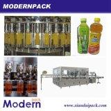 Machine de remplissage à chaud de boissons de jus et de thé de triade