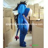 Costume dell'animale della mascotte del personaggio dei cartoni animati dell'asino