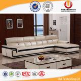 Sofà moderno della mobilia di cuoio del sofà con l'angolo per mobilia domestica (UL-B222)