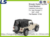 Jeep Wrangler Tj를 위한 직물 Soft Top Replacement Kits 1997-2006 51148