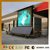 Muestra móvil a todo color del vídeo LED de la publicidad al aire libre P10 SMD