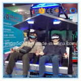 2016 heißestes Amusement Equipment 9d Vr 2 Seats 360 Degree Scenes 6 Dof Motion Platform Flight Simulator