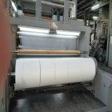 Lana de producción de fibra de poliéster no tejida