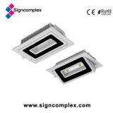 Die-Casting приспособление потолочного освещения квадрата крытое СИД УДАРА алюминиевого сплава от Китая