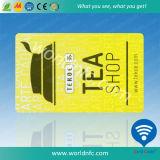Образец карточки низкой стоимости Programmable RFID франтовской преграждая свободно