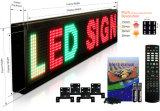 単一カラースクローリングメッセージのための屋内LED表示印