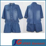 Kühle Dame Denim Overall Shorts Clothing Jc6100