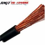 Жара, масло и пламя - retardant кабель заварки PVC/Rubber (HOFR)