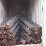Barra d'acciaio deforme rinforzante laminata a caldo di B500b (tondo per cemento armato 12mm)