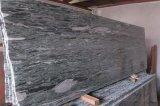 Granito verde de China de construcción del material del verde del granito de piedra natural del paraíso