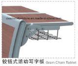 Bureau et chaise d'étudiant d'alliage d'aluminium pour l'école