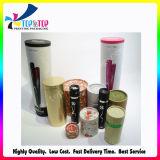 Tubo de empaquetado cosmético modificado para requisitos particulares diseño hermoso del papel del cilindro de la talla
