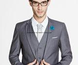 Шикарные ультрамодные серые вскользь костюмы для людей