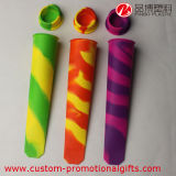 Attached Lidsの分類されたRainbow Colored Silicone Ice Pop Maker