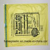 65cm x 90cm X 25mic, saco de lixo material do HDPE 27g/PC
