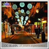 Luzes de suspensão ao ar livre da esfera 3D para a decoração da rua