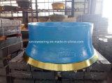 Alti manto dell'acciaio di pezzo fuso del manganese Mn22cr2 Mn18cr2 e concavo