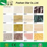 Tarjeta del panel decorativa de pared de la resistencia Tarjeta-ULTRAVIOLETA del cemento de la fibra