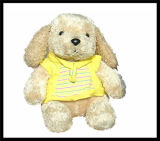 Le bébé badine la poupée animale de jouet du singe DIY de chien de chat de peluche velue