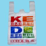sacchetto di acquisto di plastica della maglietta 9mic