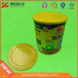 食品等級のプラスチックは粉の缶のためのふたできる