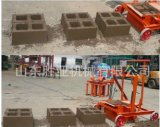 Macchina vuota concreta mobile solida del blocchetto di tecnologia Qmr2-45 della Germania in Africa