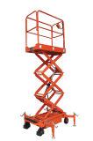 El modelo minúsculo Scissor el tipo plataforma elevadora (SJY0.3-3 SJY0.3-3.9)