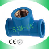 PVC Female Socket с PVC Fittings Copper Insert Brass
