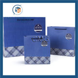 Sac de papier de chocolat bleu d'impression (DM-GPBB-135)
