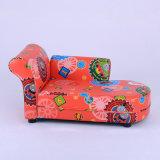 ChaiseのラウンジPVC革張りのいすの子供の家具(SXBB-60)