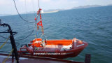 Single Arm Type Davit를 가진 빠른 Rescue Boat