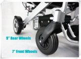 Sillón de ruedas eléctrico plegable 5 minúsculos
