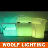 Contador iluminado muebles de la barra del club nocturno LED de la barra que brilla intensamente