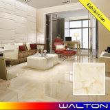 azulejo de suelo esmaltado por completo pulido vitrificado 600X600 del mármol de la porcelana