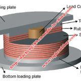 Подшипники изоляции Lrb сейсмические для структур землетрясения упорных