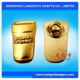 Insigne personnalisé de Pin en métal d'émail avec l'effet de placage à l'or