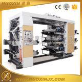 6 Farbe Stapel Typ Flexo-Druckmaschine