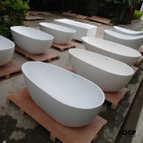 最上質の衛生製品の現代卵形の石造りの浴槽(161216)