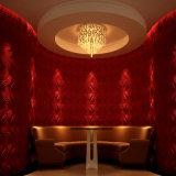 Экстерьер и интерьер крепили на клею панели PVC стены 3D поверхностные