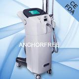 Ce delgado del Facial del vacío de la máquina del salón de la carrocería del masaje del vacío Liposuction+Infrared Laser+Bipolar RF+Roller