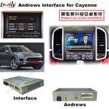Surface adjacente de navigation pour Porsche-Macan, Cayenne, Panamera ; Améliorer la navigation de contact, le WiFi, BT, Mirrorlink, HD 1080P, carte de Google