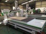 máquina de madera de la escultura del CNC 4axis para los muebles con la certificación (VCT-SR1325HD)