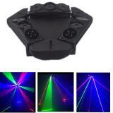 Lumière laser principale de 9 oiseaux pour le DJ
