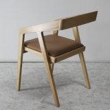 Деревянное высокое качество мебели обедая стул с мягким местом