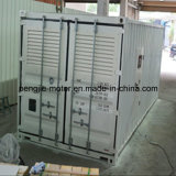 De Levering van China 20FT en 40FT Diesel van de Container Super Stille Generator