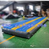 PVC gymnastique de l'exercice 0.55mm d'air de piste de guide gonflable d'intérieur de coussin