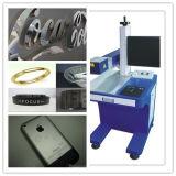 Машина маркировки лазера металла волокна для логоса, iPhone/Apple