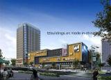 조립식 강철 공장 및 상업적인 빌딩 구조