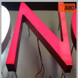 Signage acrylique décoratif lumineux fait sur commande de caractères de mot